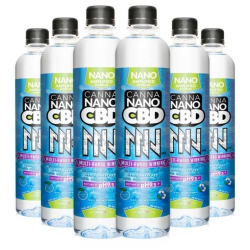 CannaNano CBD Water Six Pack