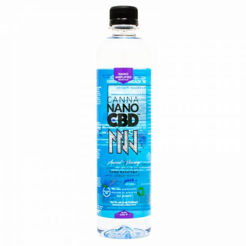 CannaNano CBD Alkaline Water Bottle