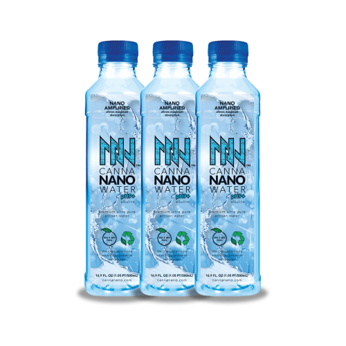Canna Nano CBD Water Plus 3 pack