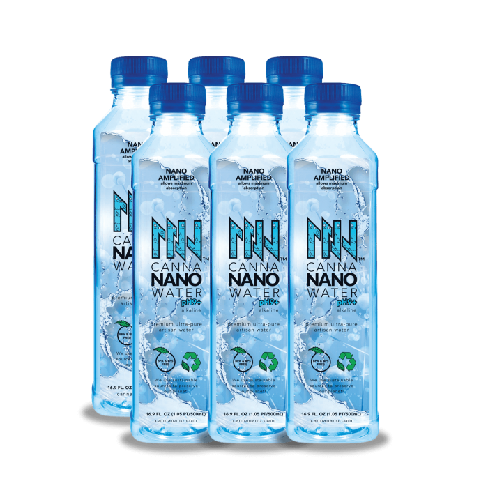 Canna Nano CBD Water Plus 6 Pack