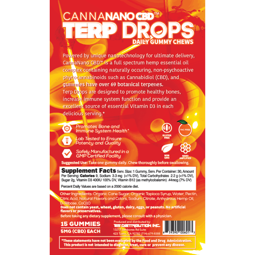 TerpDrops Loganberry back