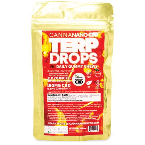 CannaNano CBD Gummies Terp Drops